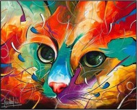 Full Diamond Diamond Painting Cross Stitch Embroidered Diamond Painting Cat Hobbies Crafts Crystal Inlaid Diamond Photo