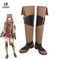 ROLECOS Anime De Stijgende van de Shield Hero Raphtalia Cosplay Schoenen Laarzen Tate geen Yuusha geen Nariagari Cosplay Schoenen voor vrouwen