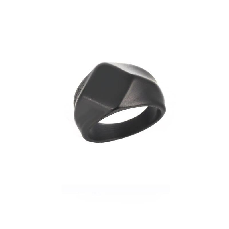 Joyería del acero inoxidable de la manera fija para los hombres oro Color triángulo COLLAR COLGANTE Shield y acero cuadrado anillo hombres joyería