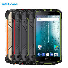 Ulefone Armor 2S 5.0 Inch Smartphone NFC Fingerprint Android 7.0 13.0MP+8MP 2GB RAM 16GB ROM IP68 Shockproof 4G LTE Cell Phones