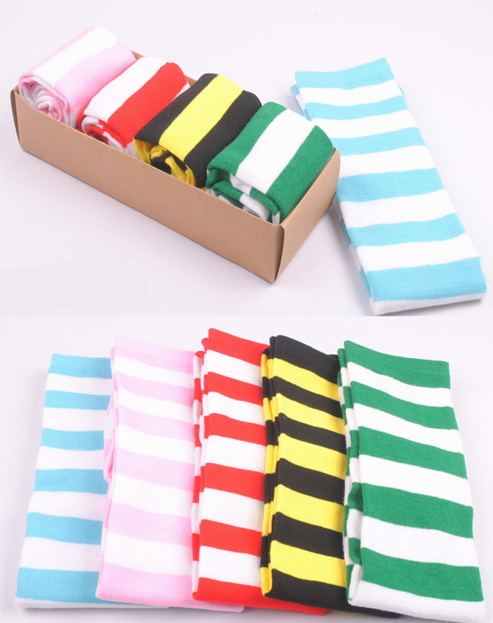 Sexy Winter Cotton Over Knee Socks Striped Thigh High Elastic Long Solid Stockings For Women Girl Spring Autumn Socks Wholesale