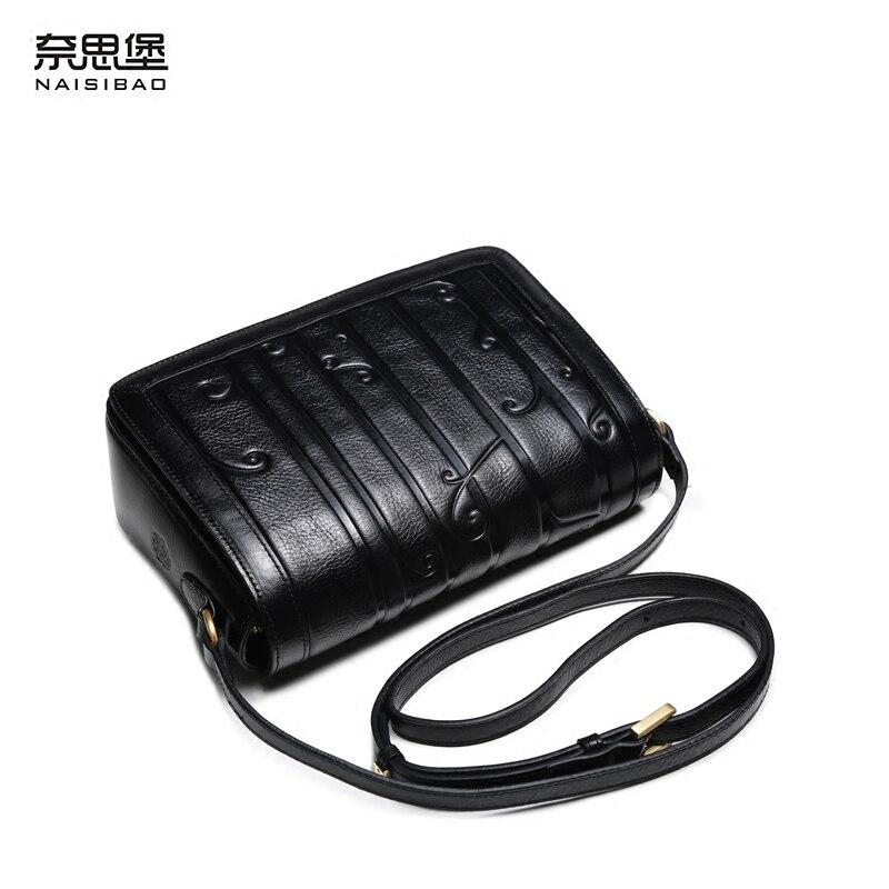 7fedb45b444b Aliexpress.com   Buy High quality Chinese style Genuine leather flower  pattern fashion women handbag name brand Vintage shoulder Messenger Bag  from Reliable ...