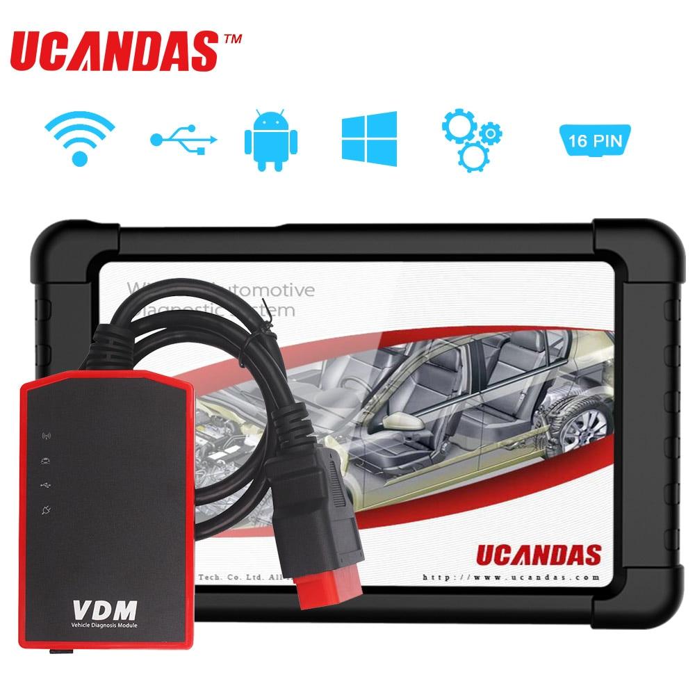 VDM V4 5 Wifi OBD2 Diagnostic Scanner Full system Auto Diagnostic Tool Multi Languages Car OBD2