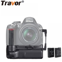 Travor Вертикальная Батарейная ручка для камеры держатель для Nikon DSLR D3100 D3200 D3300 Батарейная ручка+ 2 шт. EN-EL14 батарея