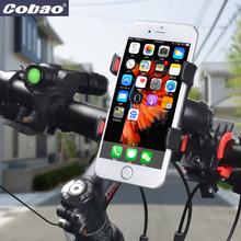 COBAO MOBILE PHONE HOLDER For Bike&Bicycle Handlebar Mount Stand & Motorcycle support For Iphone Galaxy S3 S4 S5 S6 S7 S8 Note