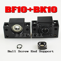 BK10 BF10 Set 1 Pc Of BK10 And 1 Pc BF10 For SFU1204 Ball Screw End
