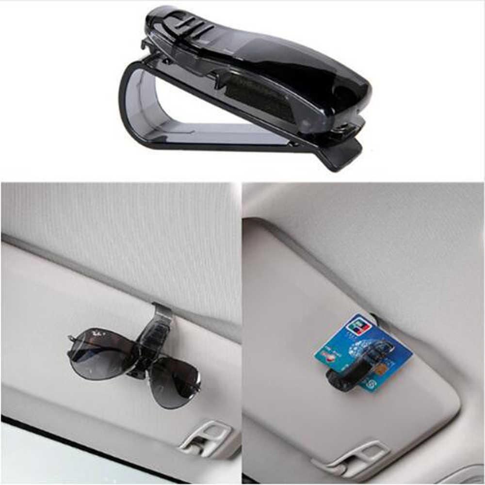 Coche gafas de sol titular de boleto de Clip para Audi A1 A2 A3 A4 A5 A6 A7 A8 B5 B6 B7 B8 C5 C6 Q2 Q3 Q5 Q7 TT S3 S4 S5 S6 S7 S8