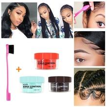 Освежающее масло для волос, восковой крем, контроль за краями, стойкий крем для укладки волос, отделочный крем для волос от завивки, Фиксирующий гель для волос