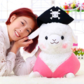1pc 30cm Lovely Pirate Sheep Plush Toy Staffed Creative Alpaca Plush Doll Birthday Gift