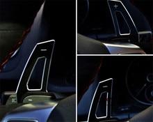 Черный Руль DSG Paddle Расширение Манетки Перестановка для Volkswagen VW Golf 6 MK6 Jetta GTI R SCIROCCO R20 R36 CC