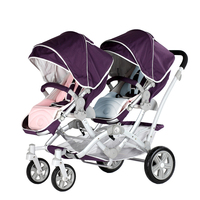 EU high quality baby stroller top quality baby stroller twins baby stroller twins stroller free gifts newborn gifts