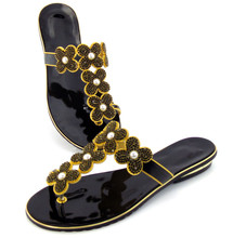 doershow Wholesale African Designer Shoes Women Fashhion Hot Style African Sandals Shoes Pumps For Wedding DD1