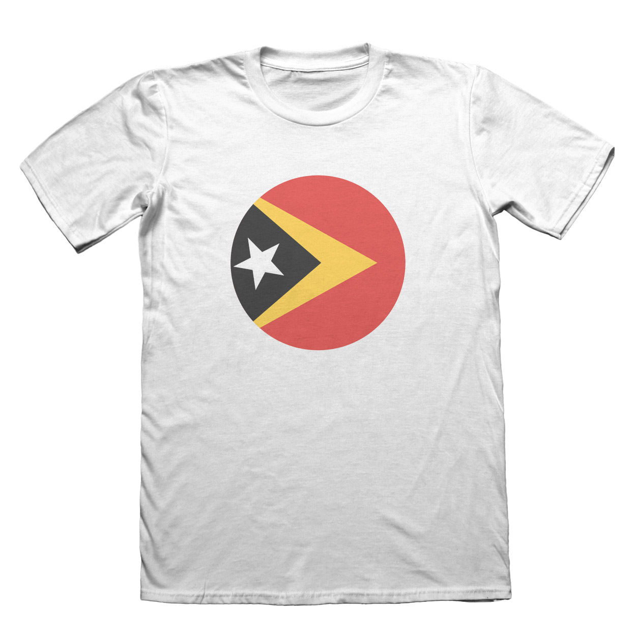 East Timor Flag Design T-Shirt - Mens Fathers Day Christmas #9108