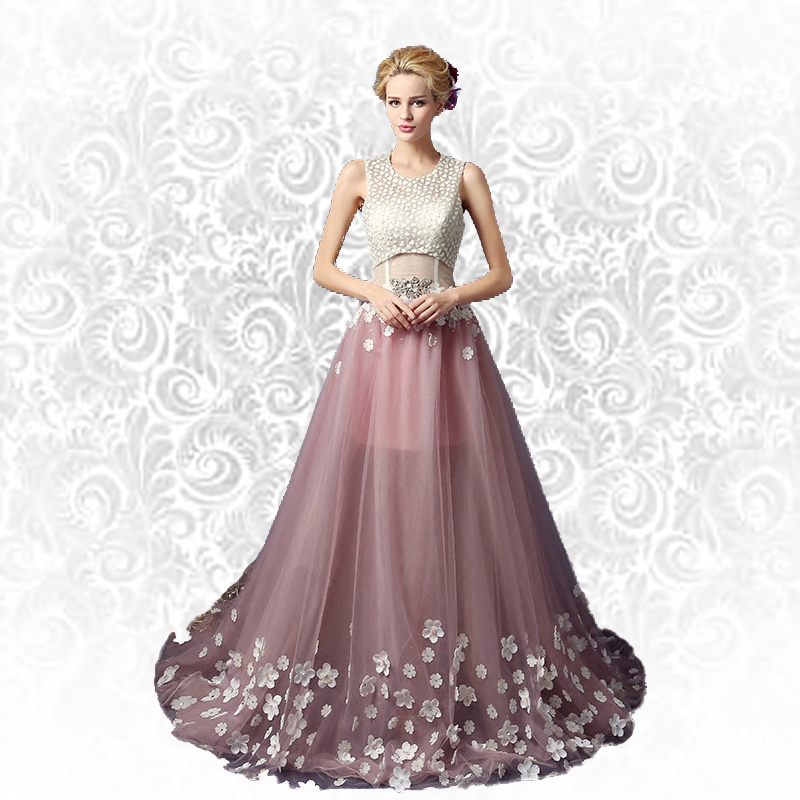 01db036dd692 Pink Prom Dress With White Flower | Gardening: Flower and Vegetables