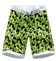 Summer Men's casual five shorts men's clothing brand beach shorts quick-drying shorts Fashion printing shorts