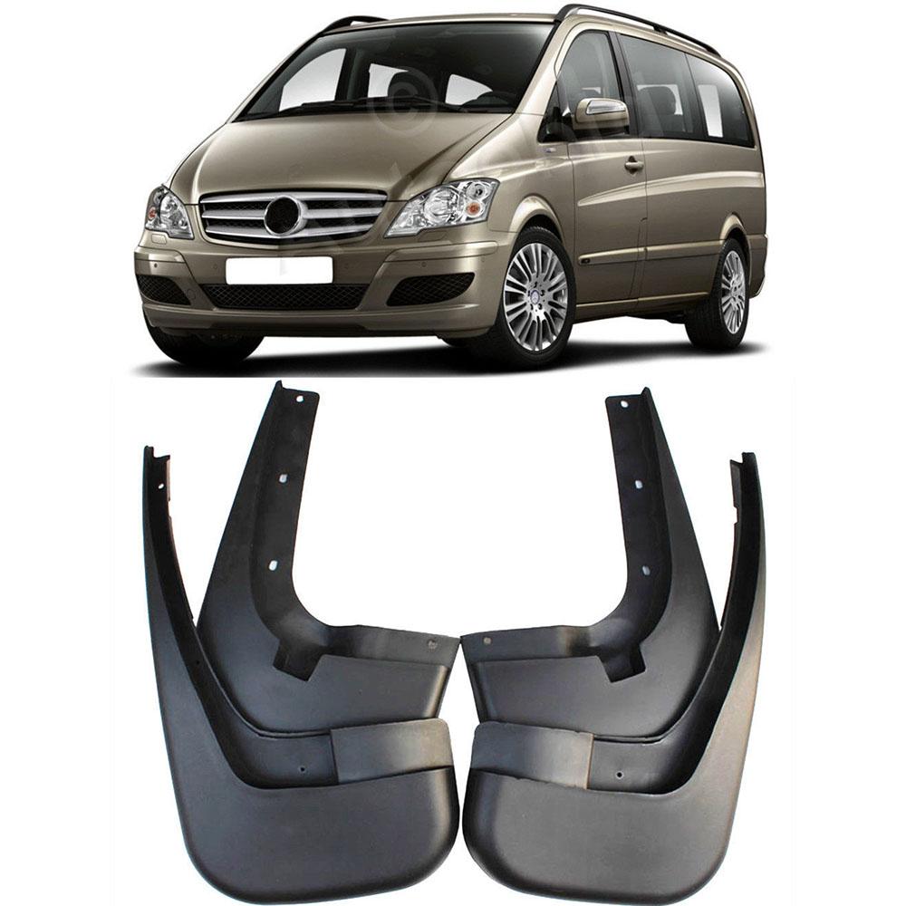 Splash Guards Mud Flaps MudFlaps For Mercedes-Benz W639 Vito Viano 2012-2017 door mirror turn signal light for mercedes benz w636 w639 vito viano