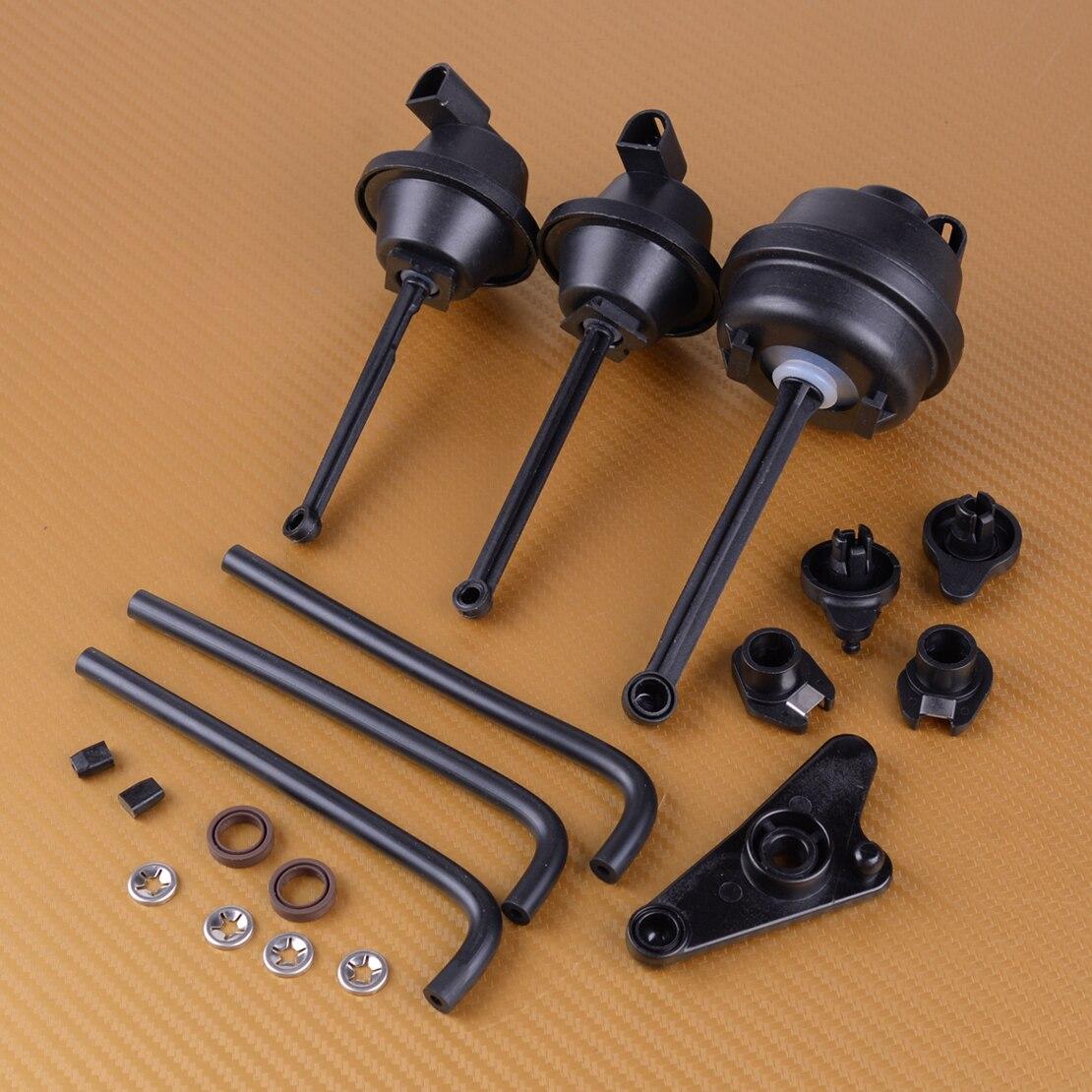 DWCX New Car Accessories Black Rubber Intake Manifold Air Flap Runner Repair Kit 2721402401 Fit for Mercedes Benz C230 C280 C350|Intake Manifold| |  - title=