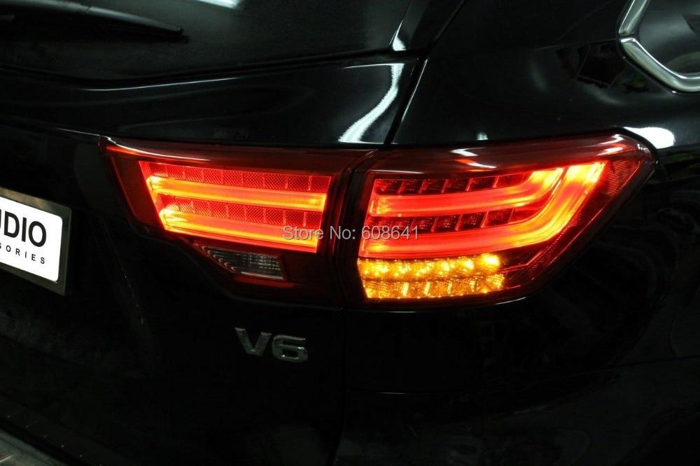 zadnja luč za TOYOTA Kluger Highlander 2014-2015 - Avtomobilske luči - Fotografija 2