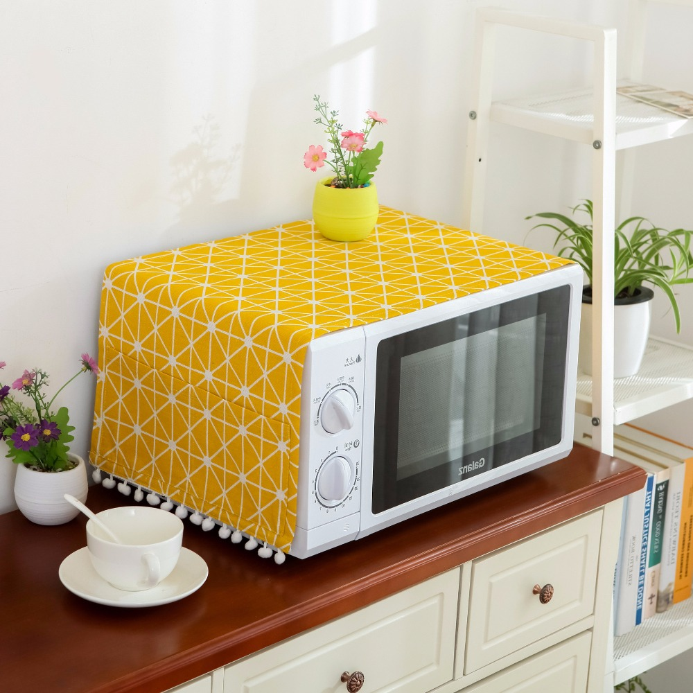 Home Microwave Oven Covers Dustproof Easy To Clean