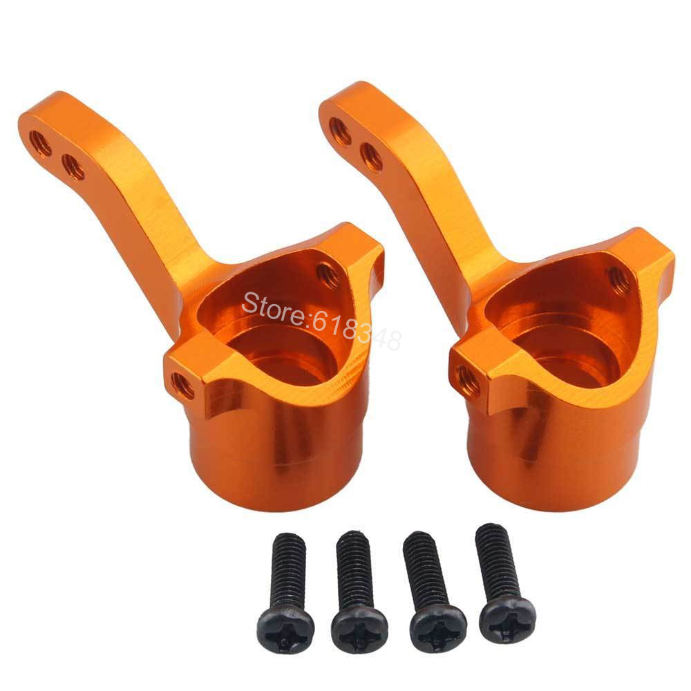 Aluminum Front Knuckle Steering Hub Carrier (L/R) For RC Electric HPI WR8 Flux Bullet ST MT 3.0 108078