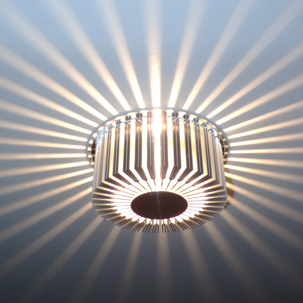led lights ceiling fitting entranceway lighting living crystal projection aisle brief