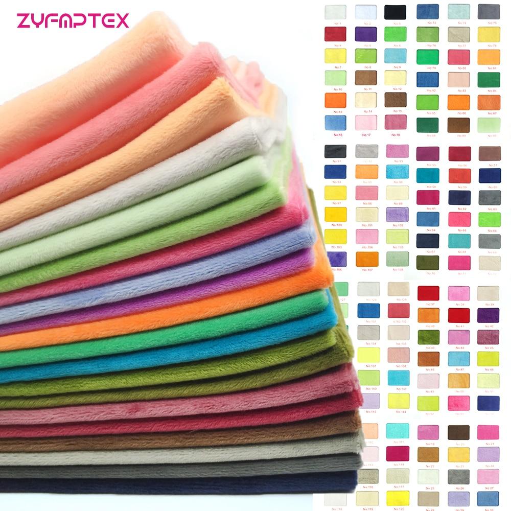 ZYFMPTEX 185 Colors 150x80cm 1.5mm Pile Length Super Soft Plush Fabric Patchwork Textile Diy Sewing Fabric For Toys ClothesZYFMPTEX 185 Colors 150x80cm 1.5mm Pile Length Super Soft Plush Fabric Patchwork Textile Diy Sewing Fabric For Toys Clothes
