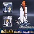 2016 Nueva LEPIN 16014 1230 Unids Space Shuttle Expedition Modelo Kit de Construcción de Bloques de Ladrillos Compatibles Juguetes Para Niños 10231