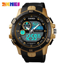 SKMEI 1428 Sports Watch Men Top Brand Luxury Famous LED Digital Watches Analog Quartz Male Clocks Mens Relojes Deportivos