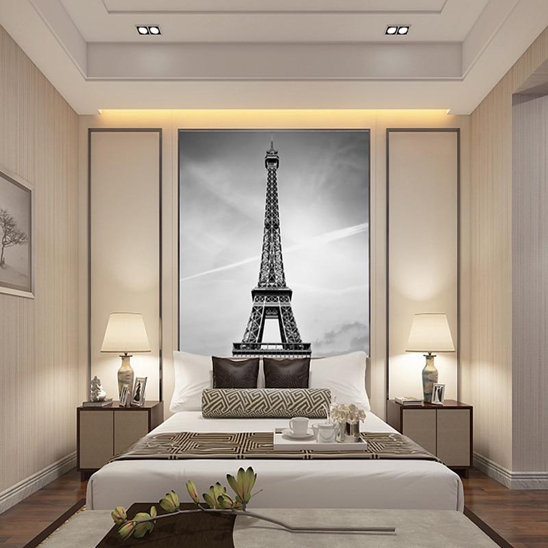 Superieur Aliexpress.com : Buy Wallpapers Youman Custom Canvas Art France Paris  Poster Paris Wallpaper Eiffel Tower Wall Stickers Eiffel Tower Mural Bedroom  From ...