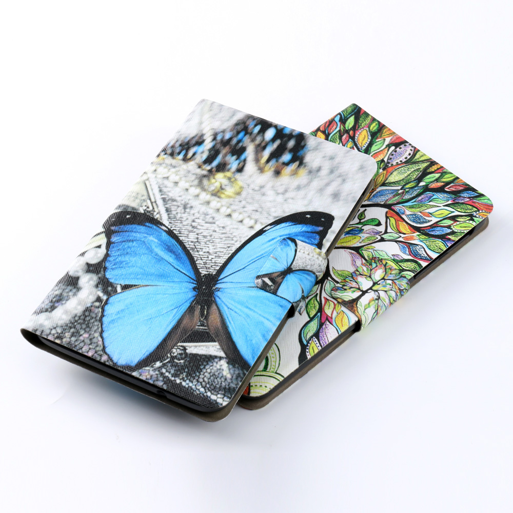 Tablets Case For Samsung Galaxy Tab A 8.0 T350 T355 8.0 Inch Painted Butterfly Auto Sleeping Cover Funda