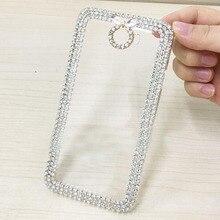 купить Luxury Bling Crystal Diamond Hard Cover Pretty Phone Case Capa For Huawei Y3 II Y5 II Y6 Pro Y6 II Compact Ascend G7 C199 Cases онлайн