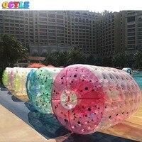 Олонец надувные спортивные игры 0,8 мм ПВХ открытый надувные водные игры для лета надувные ролик