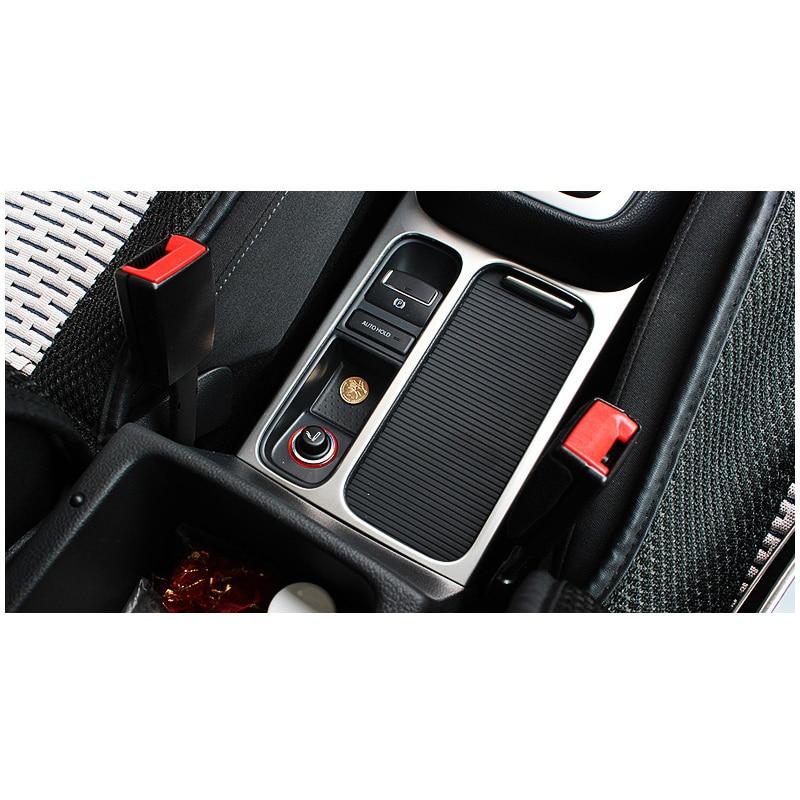 lsrtw2017 car styling car cup frame trim for volkswagen sharan 2011 2012 2013 2014 2015 2016