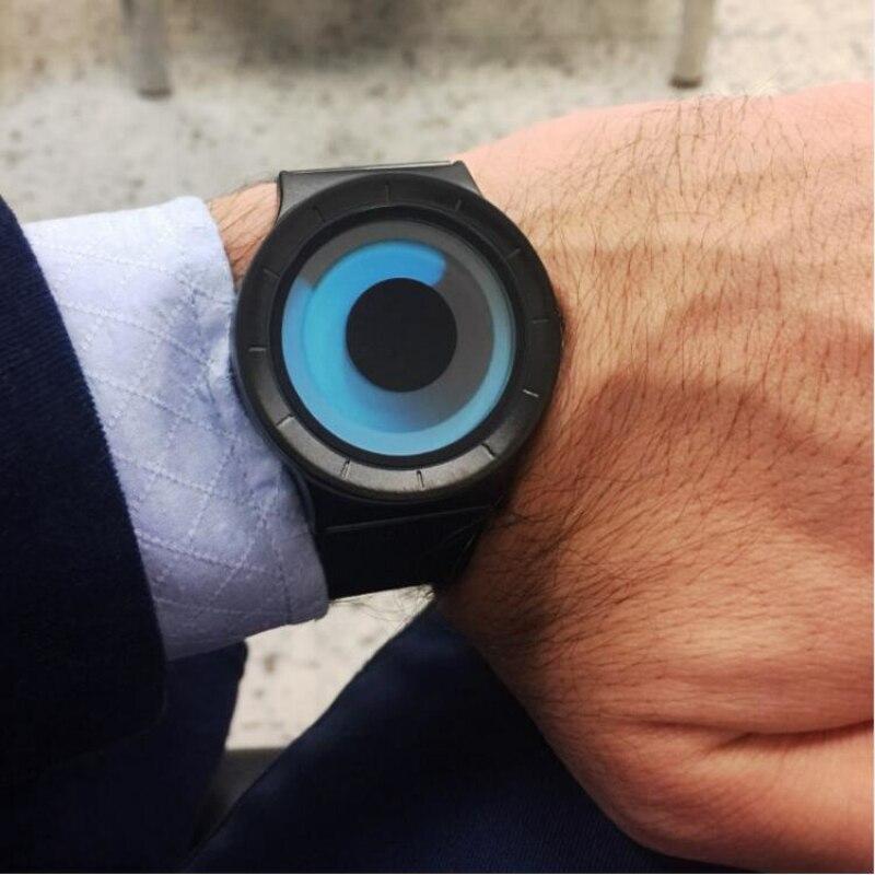 SINOBI Top Brand Creative Watches Fashion Aurora Wrist Watch Men Watch Waterproof Men's Watch Clock saat erkek kol saati relogio