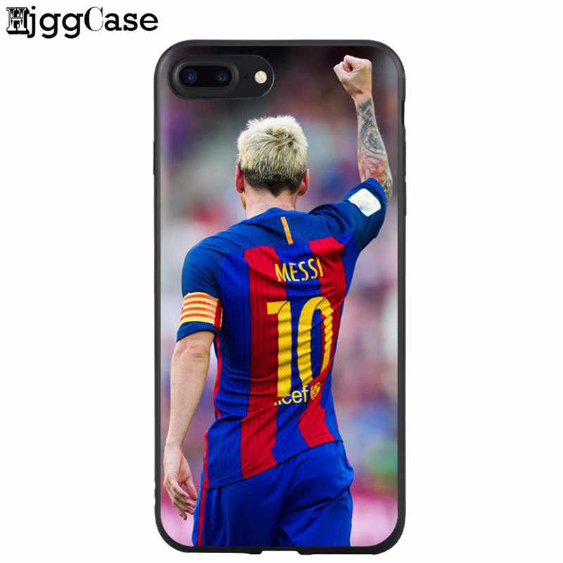 216753f14 ... Barcelona Messi Soft Silicone Phone Case For iPhone X XS MAX XR 6 6S 7  8 ...