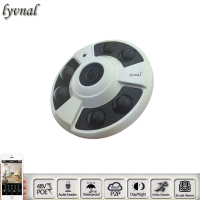 HD 1080P Audio IP Camera POE SONY IMX222 360 Degree Panoramic Surveillance Cameras Monitoring High Definition
