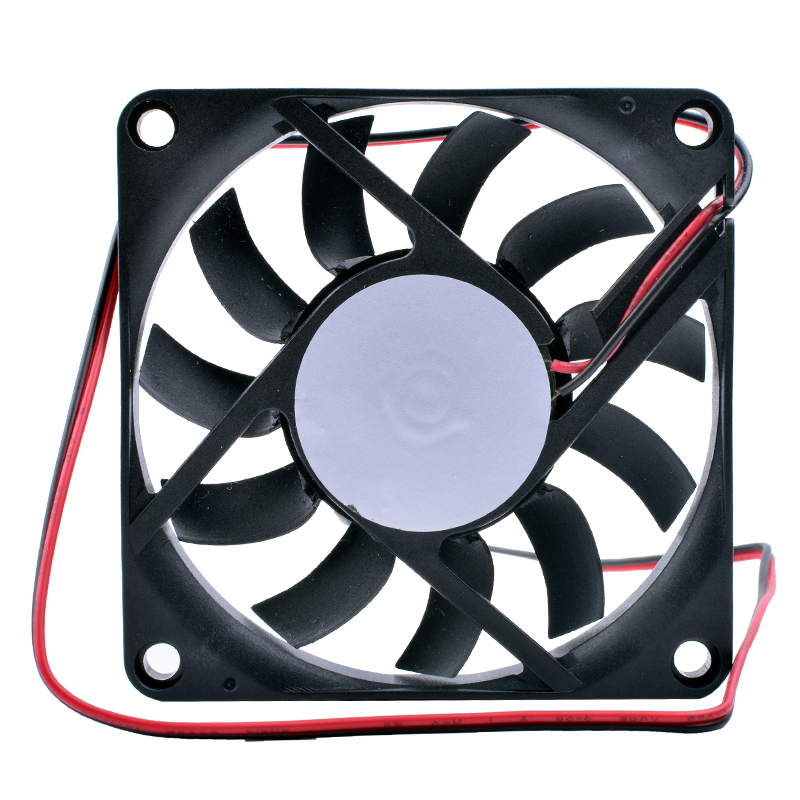 Купить с кэшбэком COOLING REVOLUTION 7010 7cm 70mm fan 70x70x10mm DC 5V USB ultra-thin cooling fan