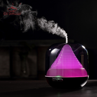 300ml New Ultrasonic Air Humidifier Essential Oil Diffuser Oil Aroma Diffuser 7 Colors Changing LED Light