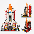 City Spaceport Space The Shuttle Launch Center 679Pcs Bricks Building Block Educational Toy For Children Legoings Cheap Blocks