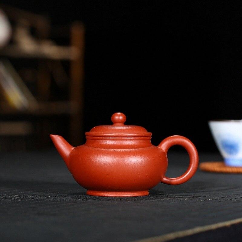 Yixing niveaux recommandés de dahongpao pot de 180 ml cadeau kung fu thé ensemble de thé Tan Jun la théière