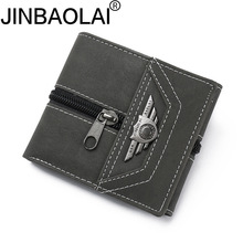 JINBAOLAI PU Leather Unisex Business Card Holder Wallet Bank Credit Card Case ID Holders Women cardholder porte carte