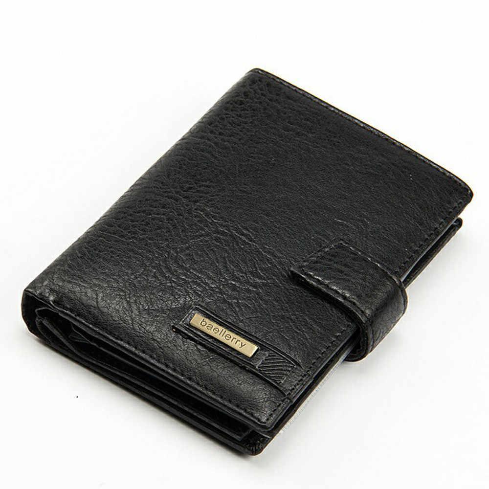 410ccce4a76d Maison Fabre wallet male wallet men leather Leather ID Card Holder Billfold Purse  Wallet Handbag Drop