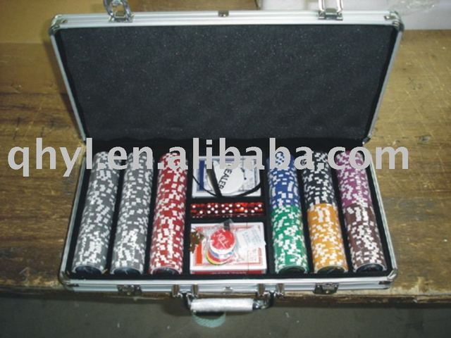 Poker Chip Case 300 Set