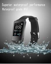 Новый SmartWatch TK002 монитор сердечного ритма часы браслет будильник вызова SMS напоминание beracelet для IOS телефона Android