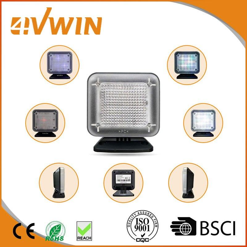 US Plug LED Dummy TV Simulator FAKE TV For Home Security Burglar Intruder Anti Thief Deterrent Sensor TV Simulator Alarms 001 3502080 canemu anti theft simulator