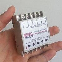 10DA Din Rail Mounting SSR 5 Channels Quintuplicate Five Input 3 32VDC Output 24 380VAC DC