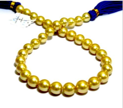 AAA 13-15mm natural south seas round gold pearl necklace 18inch >>>hot Sell necklace pendant Free shippingAAA 13-15mm natural south seas round gold pearl necklace 18inch >>>hot Sell necklace pendant Free shipping