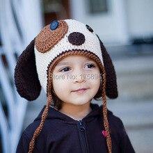 Baby Dog Hat, Crochet Baby Hat, newborn hat, Toddler Hat, baby photo props