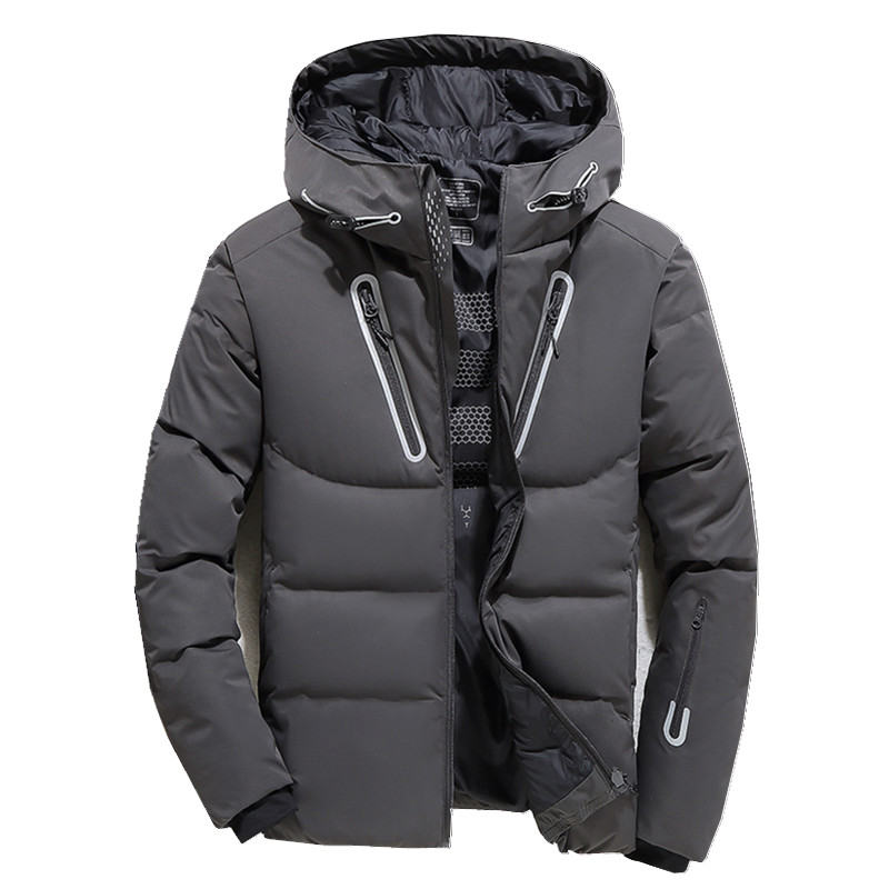 2018 High Quality White Duck Thick   Down   Jacket men   coat   Snow parkas male Warm Brand Clothing winter   Down   Jacket Outerwear