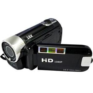 Image 3 - Full HD 1080P Цифровая видеокамера 2,7 дюймов ЖК экран Цифровая камера 16X цифровой зум анти встряхивание DV DVR видеокамера